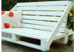 Pallet sofa instructions?
