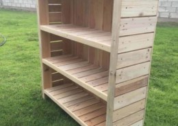Plans for Pallet Bookcase